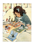 Picture Papers Posters van Jessie Wilcox-Smith
