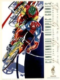 Olympic Track Cycling, c.1996 Atlanta Posters by Hiro Yamagata