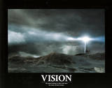 Vision (Lighthouse, In Storm) Affiches