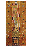 Pattern for the Stoclet Frieze, c.1905/06 End Wall Poster by Gustav Klimt