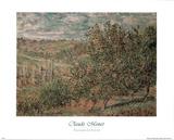 Pommiers En Fleurs Posters by Claude Monet