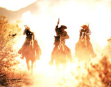 Riding into the Sunset (Cowboys) - Resim