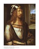 Self-Portrait Plakaty autor Albrecht Dürer