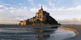 Mont Saint-Michel Print by Bruno Morandi