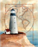 Lighthouse Pacific Ocean Prints