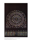 Chelles Rose Window Posters by Jean De Chelles