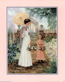 Mother and Child (In Garden) Prints