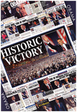 President Barack Obama Historic Victory Prints
