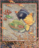 Exotic Tropical Fish no.  4 Prints by Richard Henson