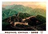 Great Wall Beijing 2008 Olympics Poster by Alexander Chen