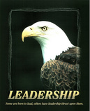 Leadership (Bald Eagle) Affiches