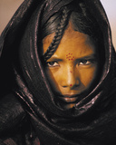 Young Taureg Woman Niger Poster by Jean-Luc Manaud