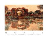 Flowering Arches Plakaty autor Claude Monet