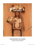 Vendedora de Flores Photo by Alfredo Ramos Martinez