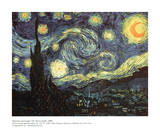 La noche estrellada Lminas por Vincent van Gogh