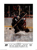 U.S. Olympic Team Hockey Lillehammer, c.1994 Posters par Robert Heindel