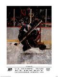 U.S. Olympic Team Hockey Lillehammer, c.1994 Posters af Robert Heindel