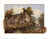 Riverside Cottage I Prints