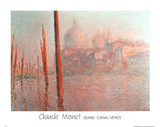Grand Canal Venice Prints by Claude Monet