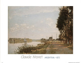 Argenteuil, c.1872 Prints by Claude Monet