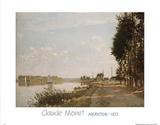 Argenteuil, c.1872 Prints by Claude Monet