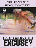 You Can't Win If Don't Try, c.1996 Atlanta Paralympics Poster
