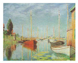 Sport Boats Prints by Claude Monet
