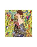 Mujer con abanico Láminas por Gustav Klimt