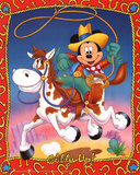Mickey Mouse Giddy Up Prints