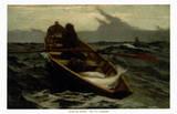 L'arrivo della nebbia Stampe di Winslow Homer