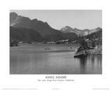 Ansel Adams - Rac Lake Kings River Canyon California - Resim