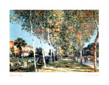La Promenade Print by Alfred Sisley