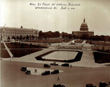 Capitol Building Mall (1933 Washington DC) Posters