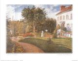 Le Jardin Des Mathurins Print by Camille Pissarro