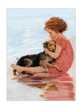 Don't Be Scared Poster von Jessie Wilcox-Smith