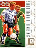 Olympic Soccer, c.1996 Atlanta Posters by Hiro Yamagata