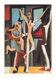 Der Tanz Kunstdruck von Pablo Picasso