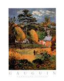 Landscape Paysage Prints by Paul Gauguin