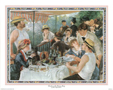 Luncheon of Boating Party Posters by Pierre-Auguste Renoir