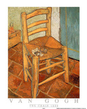 The Chair, c.1888 Posters by Vincent van Gogh