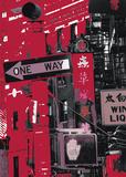 Chinatown New York City Affiches par Anne Valverde