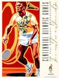 Olympic Badminton, c.1996 Atlanta Posters by Hiro Yamagata