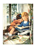 Merry Christmas Posters by Jessie Willcox-Smith