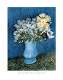 Lilas et Marguerites Prints by Vincent van Gogh
