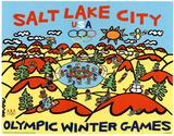 Olympics Salt lake City 2002 Affiches par Marco Winter