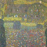 House in Attersee Poster by Gustav Klimt