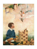 Dream Blocks Prints by Jessie Willcox-Smith
