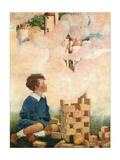 Dream Blocks Prints by Jessie Willcox-Smith