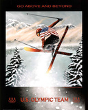 Go Above and Beyond 2010 U.S. Olympic Team Prints by Susan Sommer-Luarca