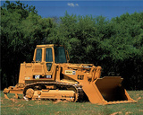Caterpillar 973 Track Loader Posters by Richard Stockton